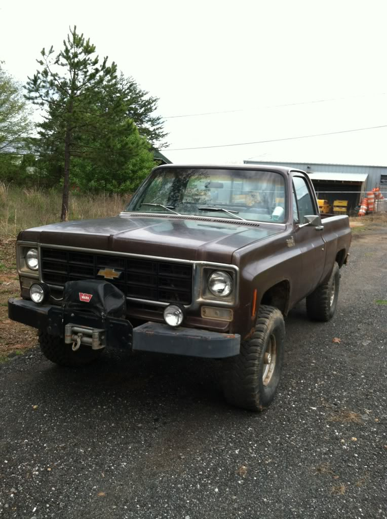 Warn Classic Winch Bumper | GM Square Body - 1973 - 1987 GM Truck Forum