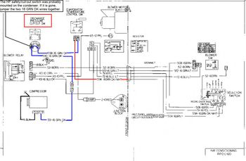 engine bay ac wiring diagram gm square body 1973 1987 gm rh gmsquarebody com  gm ac compressor wiring diagram