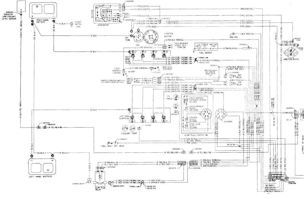 Diagram  Auto Electrical Diagram Diesel Engine Full