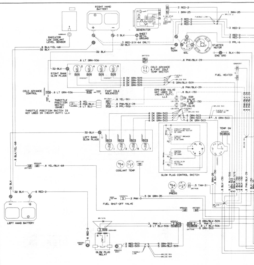 1982 C30 6 2 Diesel Engine Wiring Diagram