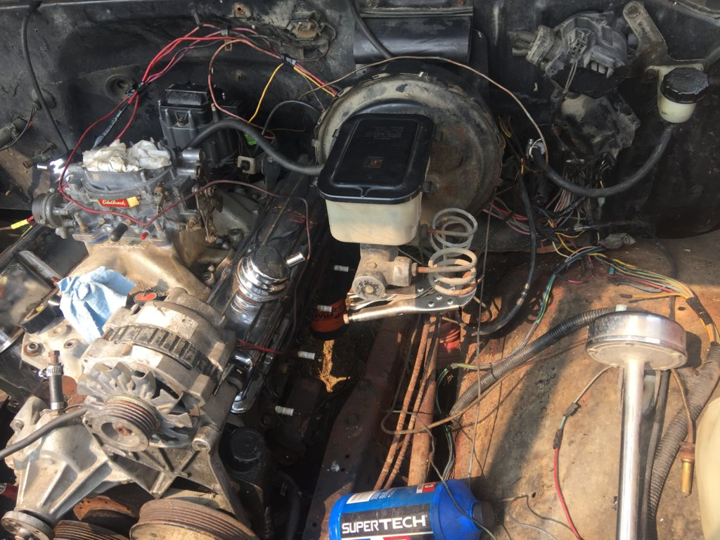 [SCHEMATICS_4CA]  Need help with engine bay wiring | GM Square Body - 1973 - 1987 GM Truck  Forum | 1985 C20 Engine Wiring Diagram |  | GM Square Body